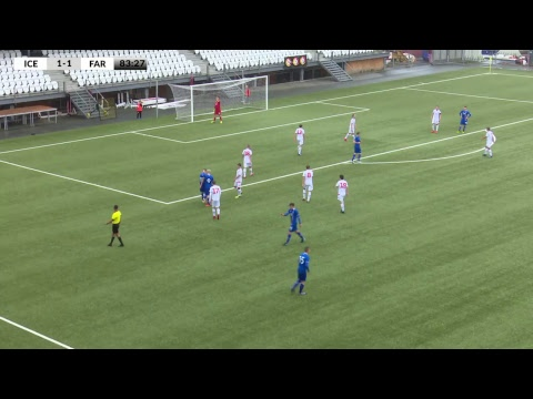 FSF Varpið: Faroe Islands U17 - Iceland U17