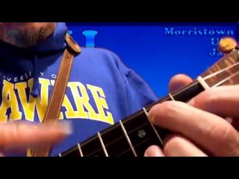 MUJ: My Blue Heaven (ukulele tutorial)