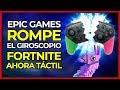EPIC GAMES ROMPE EL CONTROL POR MOVIMIENTO EN FORTNITE SWITCH | Añadido control con pantalla táctil