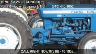 1978 Ford 2600 Tractor for sale in Farm and Heavy Equipment,