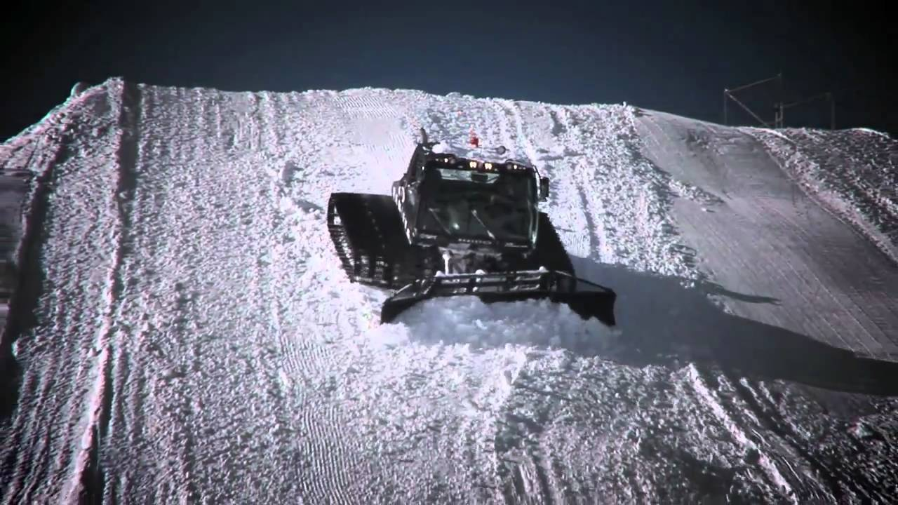 Winter X Games with Prinoth Snowcat - YouTube