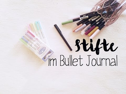 It's all about the pen #1   meine Stifte im Bullet Journal