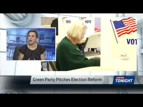 Green Party Pitches Election Reforms