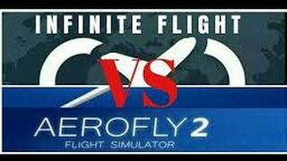 INFINITE FLIGHT VS AEROFLY