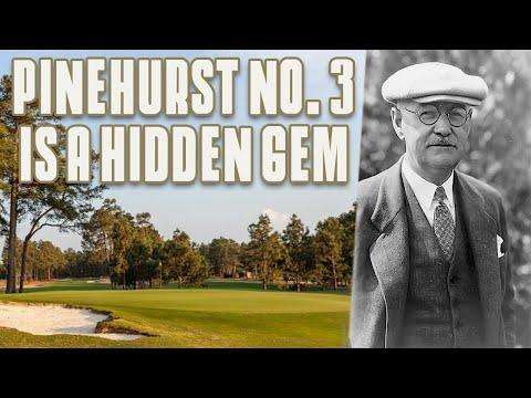 History Behind Donald Ross & Pinehurst No. 3 - Riggs Vs Pinehurst No. 3 11th Hole
