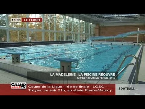 R ouverture de la piscine de la madeleine youtube for Piscine madeleine