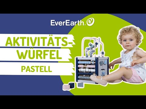 EverEarth - Mein erster großer Aktivitäts-Würfel - Pastell (EE33772)