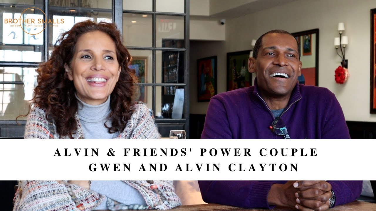 Alvin & Friends' Power Couple Gwen and Alvin Clayton