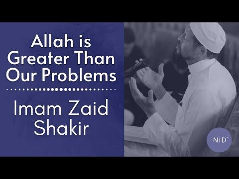 Allah is Greater Than Our Problems: Imam Zaid Shakir | Eid Al-Adha 2019