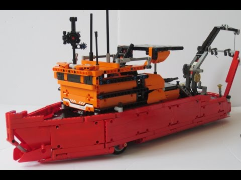 Lego Technic RYSCO® RC Oceanographic Vessel!