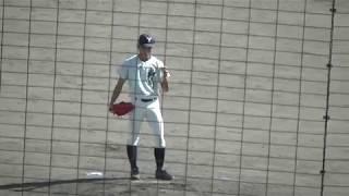 秋季福岡大会 2回戦 柳川vs沖学園.