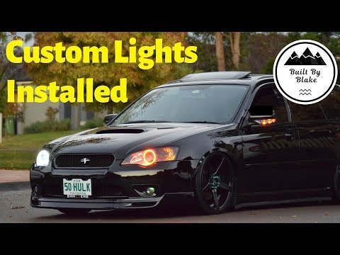 Subaru Liberty/Legacy | Custom Headlights Pt 4