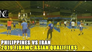 Gilas Pilipinas Practice before taking on Iran | 4th Window | 2019 FIBA World Cup Asian Qualifiers