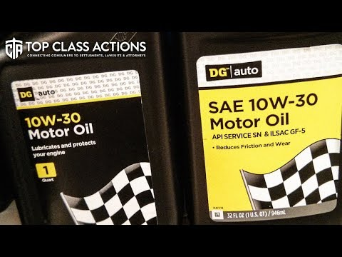 "Dollar General Sued For Selling ""Useless"" Motor Oil To Consumers"