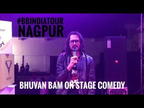 Bhuvan Bam Performing Live | BB India Tour | Nagpur | Part-1