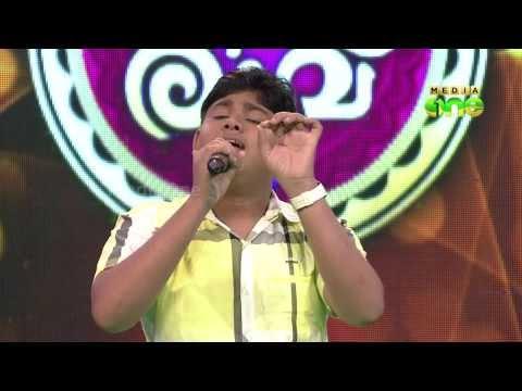"Pathinalam Ravu Season 2 (Epi6 Part2) Muhammed Fayis Singing ""Thiru Twaha Rasooline"""