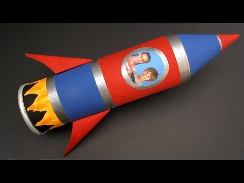 DIY Rocket Ship Pencil Case | Back to School Craft | Recycled Crafts Ideas For Kids