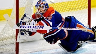 NHL Goalie Diving Saves