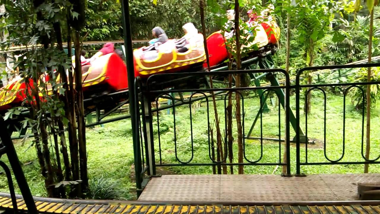Wahana Roller Coaster Taman Safari Ii Prigen Youtube