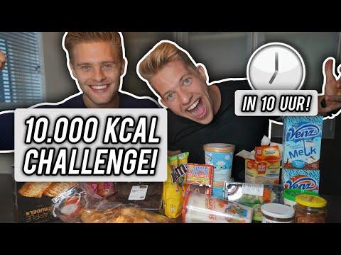 10,000 CALORIE CHALLENGE IN 10 UUR!
