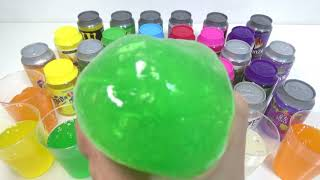 Color Balloons Surprise Egg Toys Orbeez Stressball Liquid Monster Slime Clay