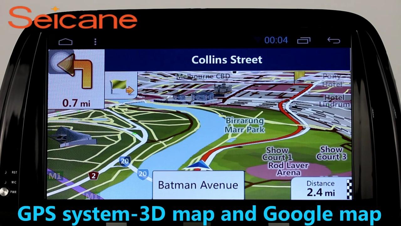 Kirinavi wc-mz8002 android 5. 1 car radio navigation system for.