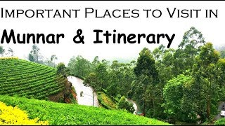 """""""Munnar"""" - Places to Visit in Munnar 