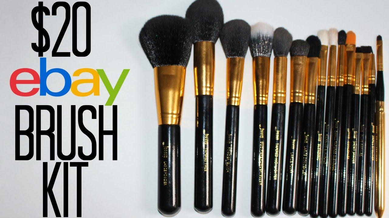 20 Makeup Brush Kit Sigma Premium Dupe Samantha Jane Youtube
