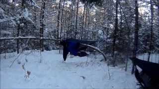 Winter Camping HD Video