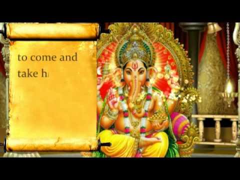 Ganesha Invitation