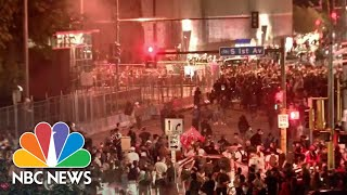 Officials Say 'Outside' Groups Responsible For Violence At Protests | NBC Nightly News