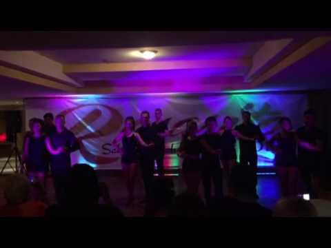 Alma Latin Bootcamp Bachata Challenge (Friday Team)  at Rosarito salsa and bachata retreat