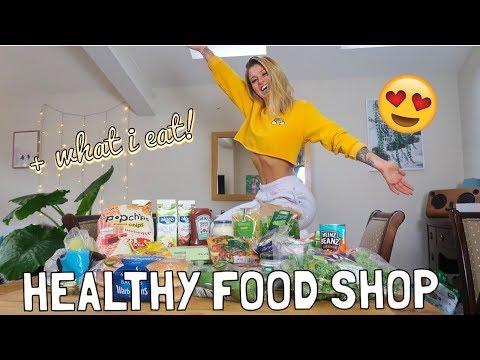 HEALTHY FOOD SHOP HAUL & WHAT I EAT!