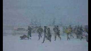 Rugby on snow