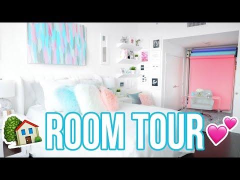 ROOM TOUR 2017!! LA LOFT BEDROOM TOUR