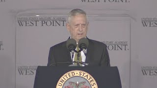 Defense Chief Mattis Gives West Point Commencement Address - Full Speech
