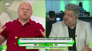 Comentaristas brigam por conta da campanha do Corinthians