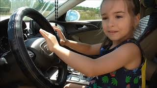 We are in the Car   Kids Story with Miss Lana