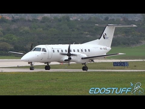 Trade Air - Embraer EMB-120RT Brasilia HA-FAI - Takeoff from Split airport SPU/LDSP
