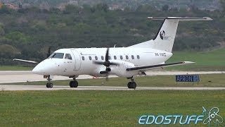 Trade Air - Embraer EMB-120RT Brasilia HA-FAI - Takeoff from Split airport SPU/LDSP