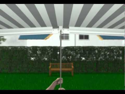 gl ck franke stellt vor markilux 1600 skylife 2 youtube. Black Bedroom Furniture Sets. Home Design Ideas