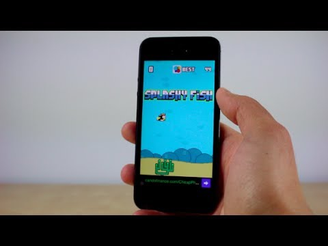 Splashy Fish - Best Flappy Bird Alternative (Clone) (iOS)