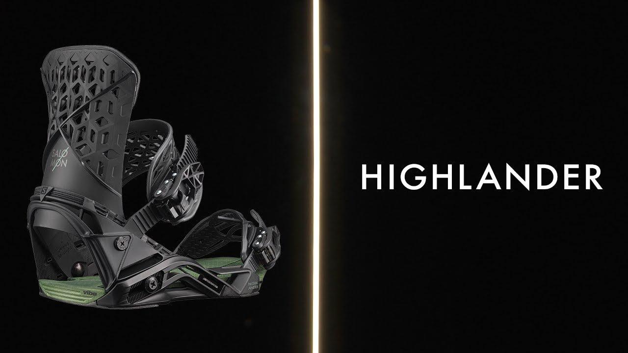 Wiązania snowboardowe Salomon Highlander BlackOil green 20192020