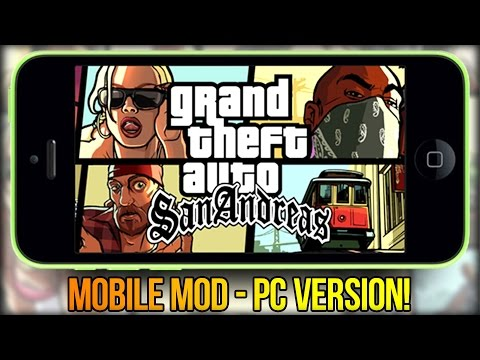 Обзор Больших Модов GTA San Andreas #12 Mobile Mod (PC Version!)
