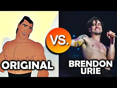 Brendon Urie VS Original Singers - Disney SONG Battle