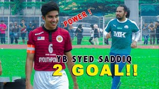 Aksi- Aksi Best Perlawanan Bola Team Pilihan YB Syed Saddiq vs Dugong All Stars