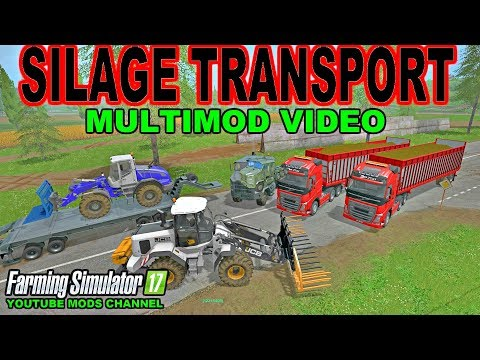 Farming Simulator 17 Silage Transport New Mods