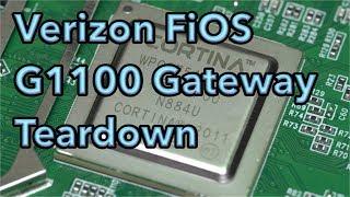 Verizon FiOS G1100 Quantum Gateway Teardown