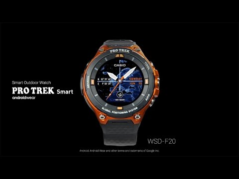 CASIO - Android Wear [PRO TREK Smart] WSD-F20
