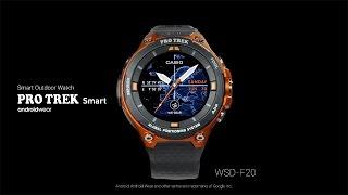 CASIO - Android Wear [PRO TREK Smart] WSD-F20